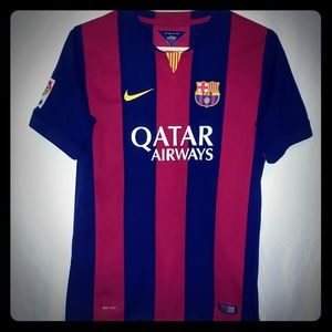 Barcelona Authentic 2014 Jersey